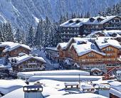 На ски  в Куршевел (Courchevel), Франция 2019/2020