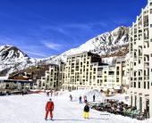 На ски  в  Изола 2000, Франция