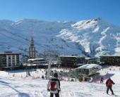 На ски в Ле Менюир (Les Menuires) Трите долини,Франция