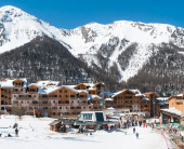 На ски в Лез - Ор , Франция ( Les Orres)