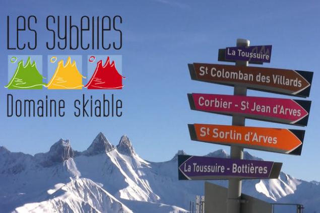 На ски в Les Sybelles