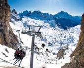 На ски в Кортина, Италия